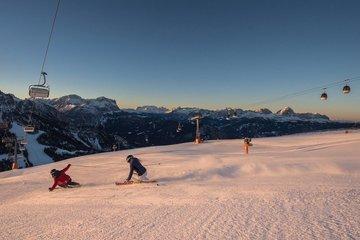 Skiurlaub in Südtirol. © TVB Kronplatz, Harald Wisthaler