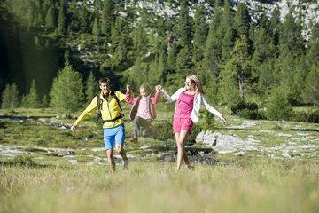 Sommerurlaub mit der Familie in Südtirol, Ahrntal, Berghotel Alpenfrieden. © TVB Kronplatz,Alex Filz