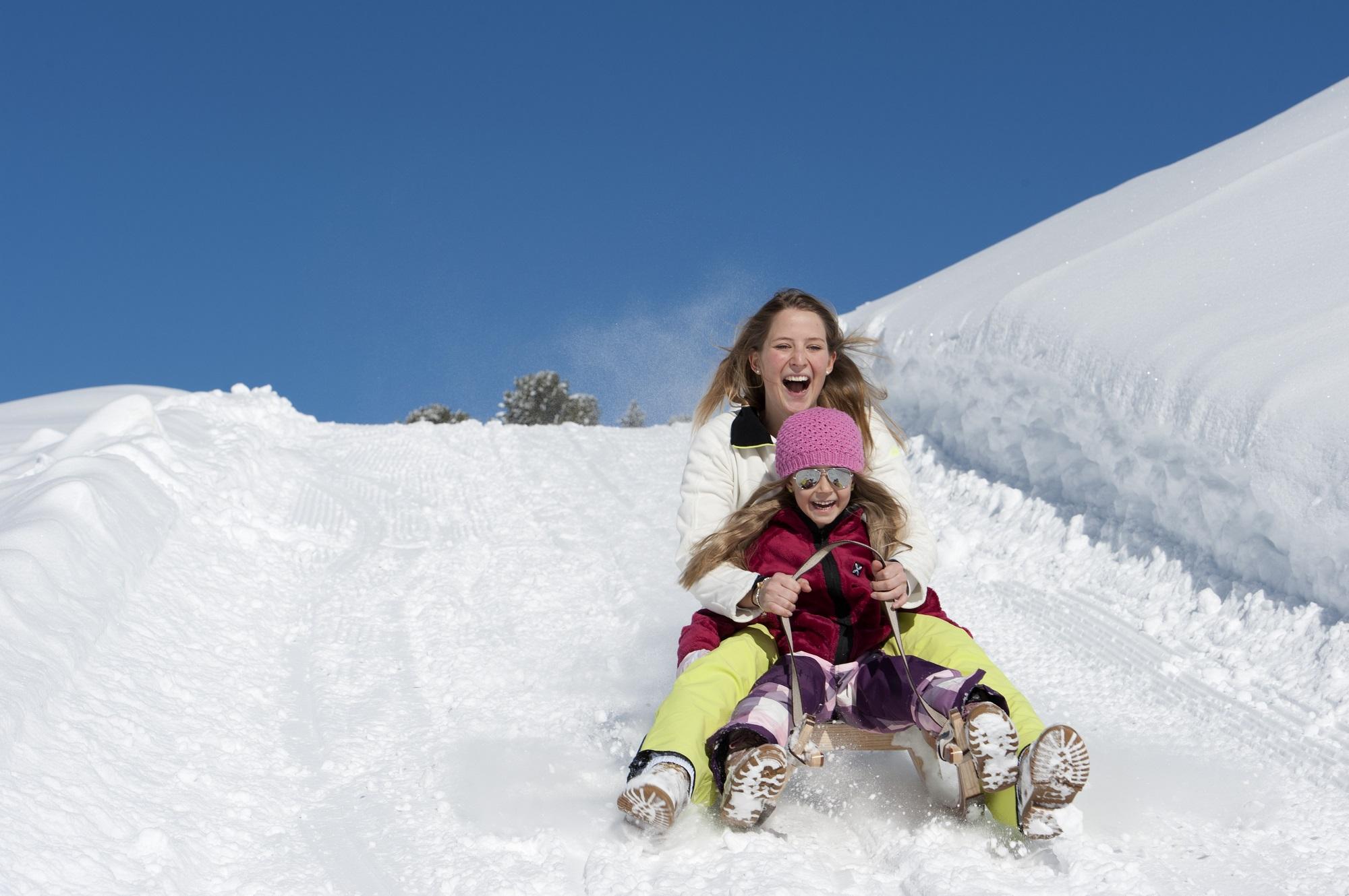 Winterurlaub im Berhotel Alpenfrieden im Ahrntal. ©TVB Kronplatz, Helmut Rier